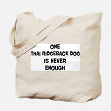 One Thai Ridgeback Dog Tote Bag