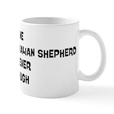 One Miniature Australian Shep Mug