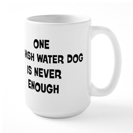 One Spanish Water Dog Large Mug