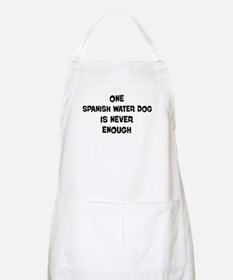 One Spanish Water Dog BBQ Apron