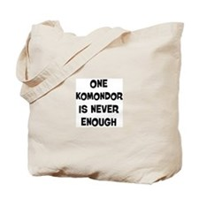 One Komondor Tote Bag