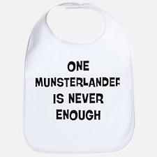 One Munsterlander Bib