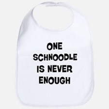 One Schnoodle Bib