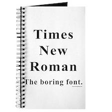 Times New Roman Boring Journal