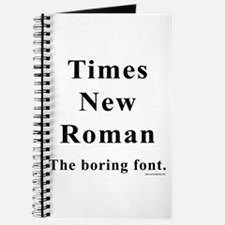 Times New Roman Boring Journal