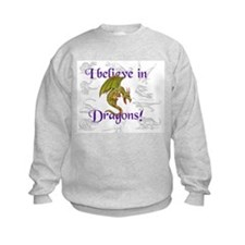 I Believe in Dinosaurs Sweatshirt