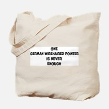 One German Wirehaired Pointer Tote Bag