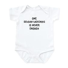 One Belgian Laekenois Infant Bodysuit