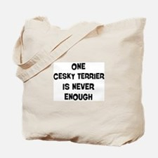 One Cesky Terrier Tote Bag