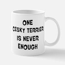 One Cesky Terrier Mug