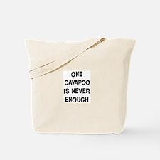 One Cavapoo Tote Bag