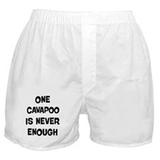 One Cavapoo Boxer Shorts