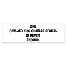 One Cavalier King Charles Spa Bumper Bumper Sticker