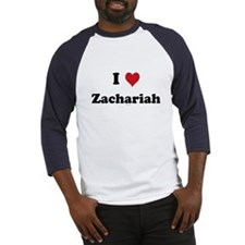 I love Zachariah Baseball Jersey