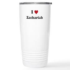 I love Zachariah Ceramic Travel Mug