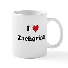 I love Zachariah Small Mug