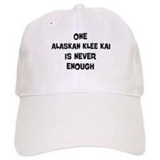 One Alaskan Klee Kai Baseball Cap