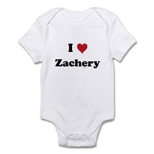 I love Zachery Infant Bodysuit