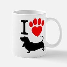 Heart paw copy Mugs