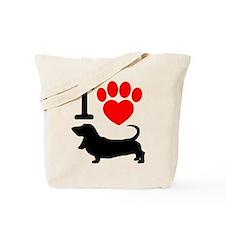 Cute Carolina dogs Tote Bag