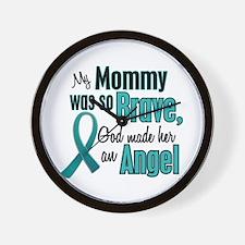 Angel 1 TEAL (Mommy) Wall Clock