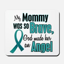 Angel 1 TEAL (Mommy) Mousepad