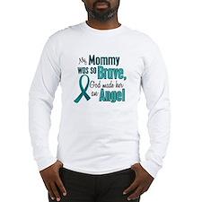 Angel 1 TEAL (Mommy) Long Sleeve T-Shirt
