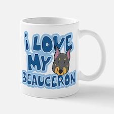 I Love my Beauceron Mug (Cartoon)