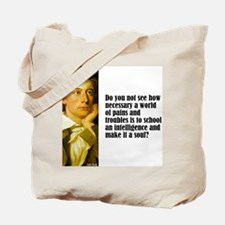 """Keats """"Do You Not See"""" Tote Bag"""