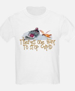 Stop Cupid Snowmobile T-Shirt