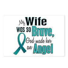 Angel 1 TEAL (Wife) Postcards (Package of 8)