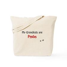 Poodle Grandkids Tote Bag