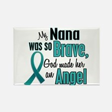 Angel 1 TEAL (Nana) Rectangle Magnet