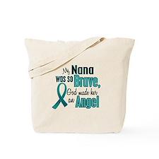 Angel 1 TEAL (Nana) Tote Bag