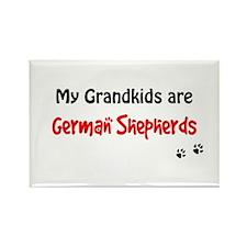 Shepherd Grandkids Rectangle Magnet