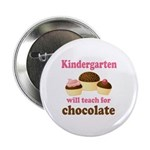 "Funny Kindergarten 2.25"" Button"