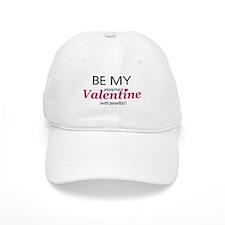 Valentine With Benefits Baseball Cap
