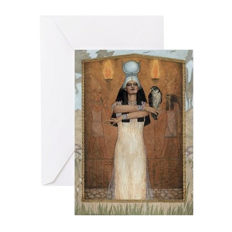 Isis blank greeting cards (Pk of 10)