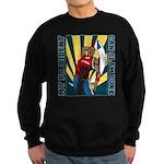 Barack Obama Slam Dunk Sweatshirt (dark)