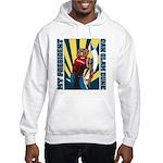 Barack Obama Slam Dunk Hooded Sweatshirt