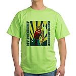 Barack Obama Slam Dunk Green T-Shirt