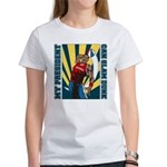 Barack Obama Slam Dunk Women's T-Shirt