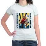 Barack Obama Slam Dunk Jr. Ringer T-Shirt