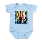 Barack Obama Slam Dunk Infant Bodysuit
