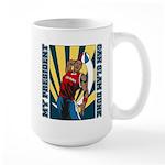 Barack Obama Slam Dunk Large Mug