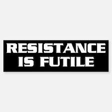 Resistance Bumper Bumper Sticker