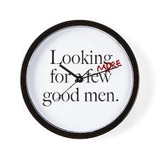More Good Men Wall Clock