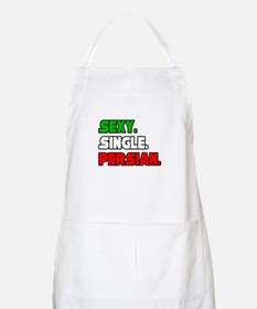 """Sexy. Single. Persian."" BBQ Apron"