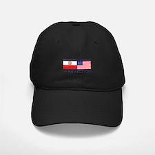 Polish American flags Baseball Hat