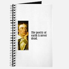 "Keats ""Poetry of Earth"" Journal"
